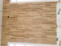 solid oak wall panel